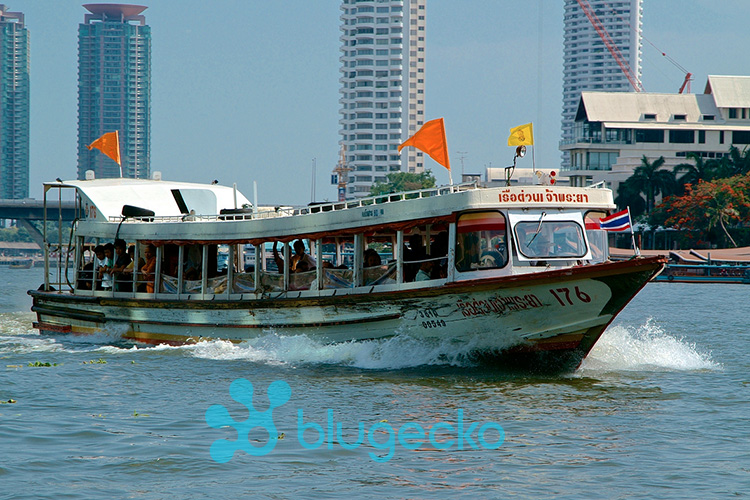 Express Boat on the Chao Phraya River